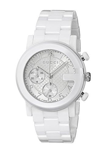 Gucci Watch G-chrono White Ceramic YA101353