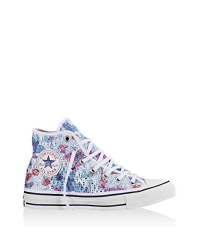 Converse Zapatillas abotinadas All Star Hi Tiny Crochet Print