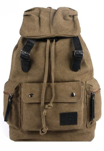 Fedo Thicken Canvas Backpack front-1064109