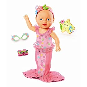 MGA Zapf Creation Baby Born, Mommy Look I Can Swim Doll