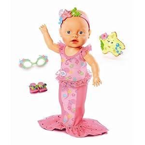 Mga Zapf Creation Baby Born Mommy Look I Can Swim Doll