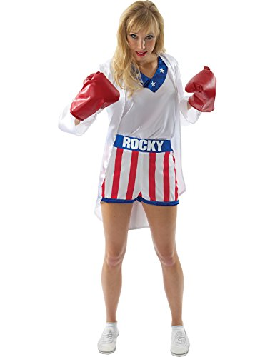 [Rocky Knockout Costume - Medium Fancy Dress] (Knock Out Costumes)