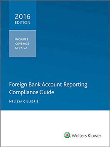Foreign Bank Account Reporting Compliance Guide 2016