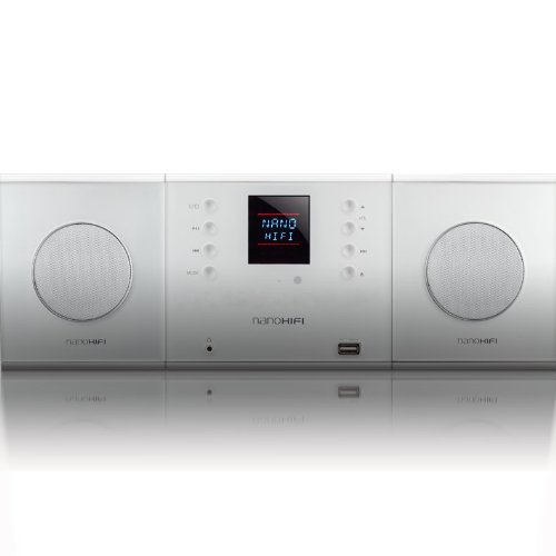 Bookshelf Stereo System, High End Compact Music Device By Nanohifi (1000 Model)