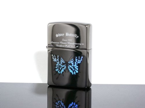ZIPPO Zippo lighter Rainbow Butterfly dot dt/bk