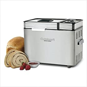 Cuisinart CBK-200 Stainless 2-lb Convection Breadmaker Bundle