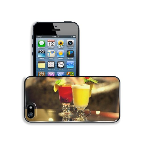 Frozen Drinks Beverage Fruit Decorations Apple Iphone 5 / 5S Snap Cover Premium Aluminium Design Back Plate Case Customized Made To Order Support Ready 5 Inch (126Mm) X 2 3/8 Inch (61Mm) X 3/8 Inch (10Mm) Msd Iphone_5 5S Professional Metal Case Touch Acce front-47547