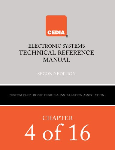 Media Room Audio (Cedia Electronic Systems Technical Reference Manual Book 4)