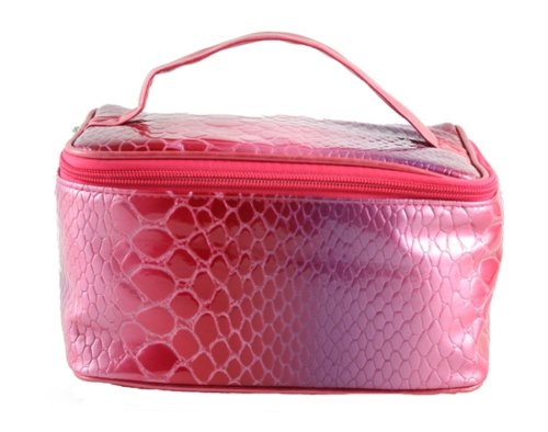 Danielle Electric Croc Train Case