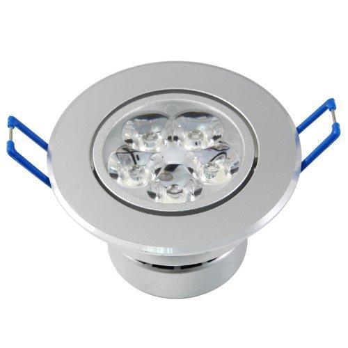 Lemonbest® Superbright 5W Led Ceiling Light Downlight Spotlight Lamp Recessed Lighting Fixture , Halogen Bulb Replacement, Warm White