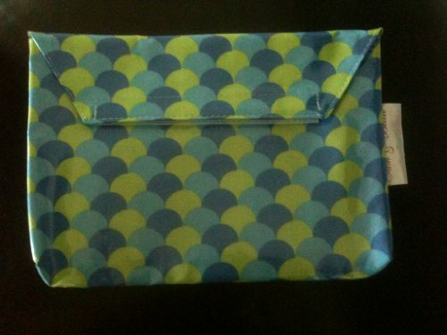 Sam & Bellie Laminated Diaper Clutch (mica)