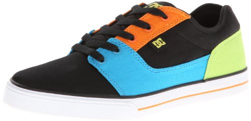 Dc Shoes Bristol Cnvas Black Multicolor Fashion Sports Skate Shoe D0303324B 2 UK Junior, 3 US