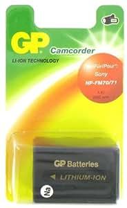 GP Batterie de type Sony NP-FM70, NP-QM70 pour Caméscope Sony