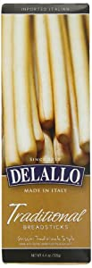 DeLallo Traditional Breadsticks, 4.4-Ounce Packages (Pack of 12)