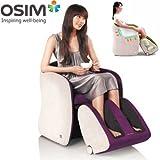 OSIM ® Usofa -Fauteuil Massant Compact - High Tech et Design - Couleur : VIOLET