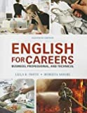 img - for English for Careers : Business, Professional, and Technical (Paperback)--by Leila R. Smith [2013 Edition] book / textbook / text book
