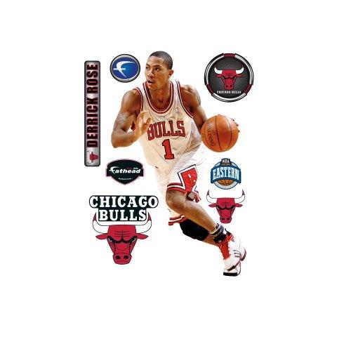 Fathead Derrick Rose Chicago Bulls Wall Decal Fathead Wall Stickers & Murals autotags B0026IUNOW