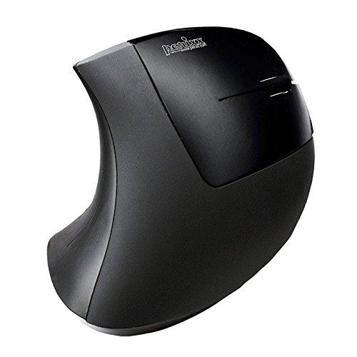 Perixx PERIMICE-513, Mouse ergonomico filo - 1000/1500/2000 DPI - Natural Ergonomic design verticale - Recommended with RSI User