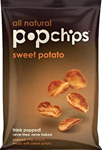 Popchips, Sweet Potato, 3-Ounce Bags (Pack of 12)