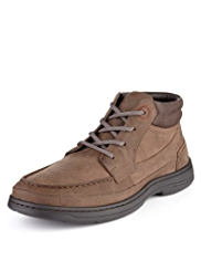 Airflex™ Comfort Leather Extra Wide Fit Chukka Boots