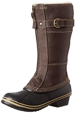 Sorel Women S Tivoli Rain Nl1691 Boot Spectra Yellow Black