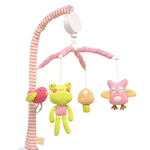 Lolli Living Poppy Seed Mobile, Owl