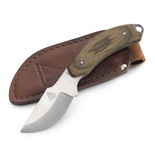 Lone Wolf Skinner Hunting Knife With Plain-Edged Blade (Orange, 7.97-Inch)