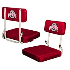 Logo Chair Ohio State Buckeyes NCAA Hardback Seat LCC-191-94 by Logo Chairs