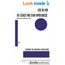 At Least We Can Apologize (Library of Korean Literature)