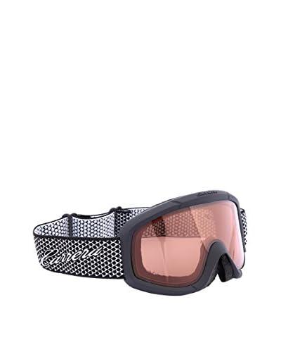 Carrera Máscara de Esquí M00375 NEBULA TEXT 4L Negro