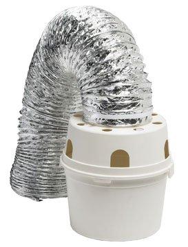Dundas jafine TDIDVK Indoor Dryer vent Kit Round Bucket w/ 5' Aluminum Ducting