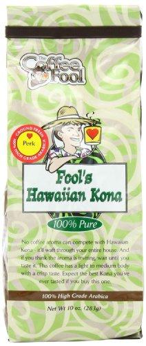 The Coffee Fool Fool'S Hawaiian Kona, Perk, 10 Ounce