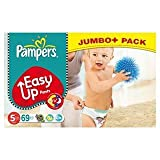 Pampers Easy Up Pants Size 5 (12-18kg) Jumbo+ Pack Junior x 69 per pack