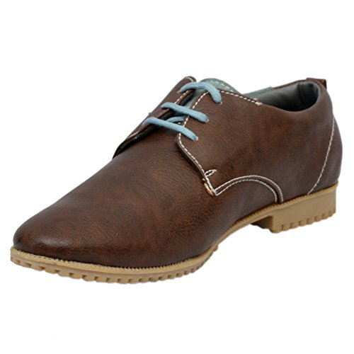 Lifestyle Cooper England Men's Brown Lifestyle Casual Shoes