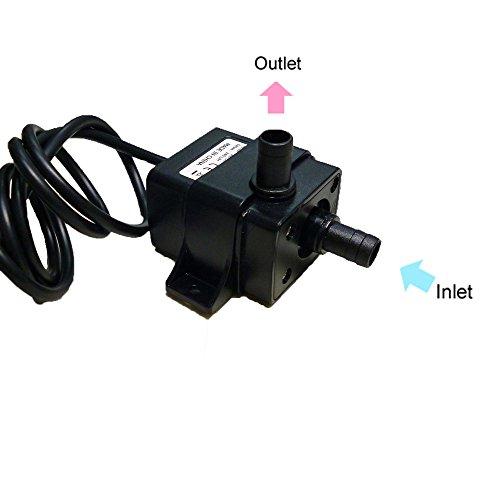 Anself-Mini-Wasserpumpe-Tauchpumpe-Pumpe-12-V-elektrische-Minipumpe-fr-Brunnen-Aquarium-und-Modellbau
