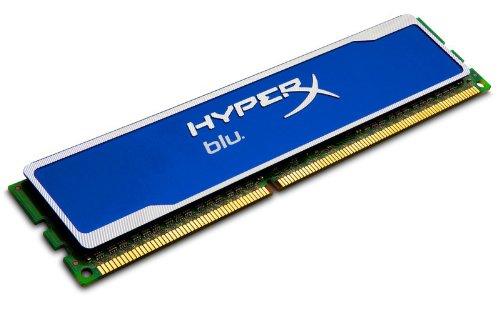 Kingston Hyperx Blu 8Gb (1X8 Gb Module) 1600Mhz 240-Pin Ddr3 Non-Ecc Cl10 Desktop Memory Khx1600C10D3B1/8G