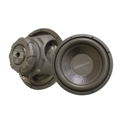 "Audiobank 10"" 600W Single 4 Ohm Subwoofer P10"