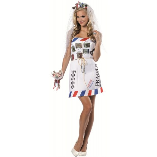 Mail Order Bride Costume - One Size - Dress Size 6-10