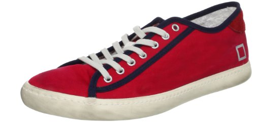 scarpe uomo D.A.T.E. ( date ) 44 EU sneakers rosso tessuto ZX212