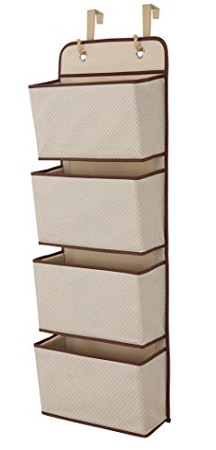 Review Of Delta Children 4 Pocket Hanging Wall Organizer, Beige