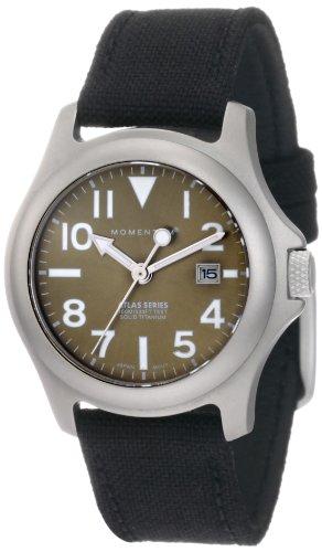 Momentum Women's 1M-SP01G6B Atlas Green Dial Black Cordura Watch