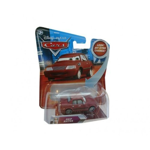 Disney / Pixar CARS Movie 155 Die Cast Car with Lenticular Eyes Series 2 Skip Ricter - 1
