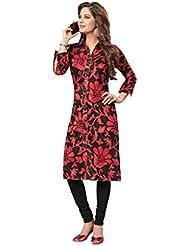 Desi Fab Sraight Long Shirt Style Kurti