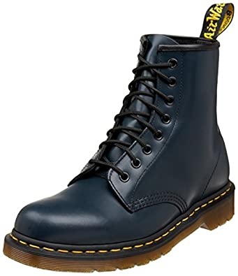 Dr. Martens 1460 Originals 8 Eye Lace Up Boot,Navy Smooth Leather,10 UK (11 M US Mens / 12 M US Womens)
