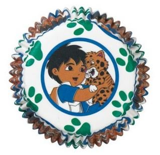 Wilton Go Diego Go Baking Cups - 2 Packs Of 50 Each