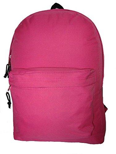 1afab60479f3 Classic Bookbag Basic Backpack School Bookbag Student Simple Daypack