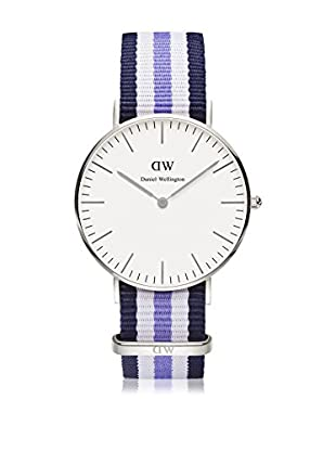 Daniel Wellington Reloj con movimiento cuarzo japonés Woman Classic Trinity navy/blue/white 36 mm