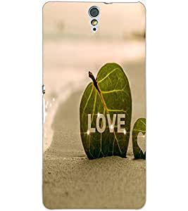 SONY XPERIA C5 LOVE Back Cover by PRINTSWAG