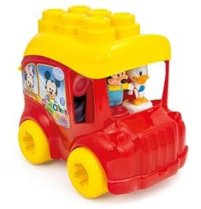 Clementoni- Clemmy Baby Disney Autobús Escolar ( 2 pers.+ 10 bloques ) en BebeHogar.com