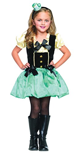 Girls Tea Party Princess Kids Child Fancy Dress Party Halloween Costume